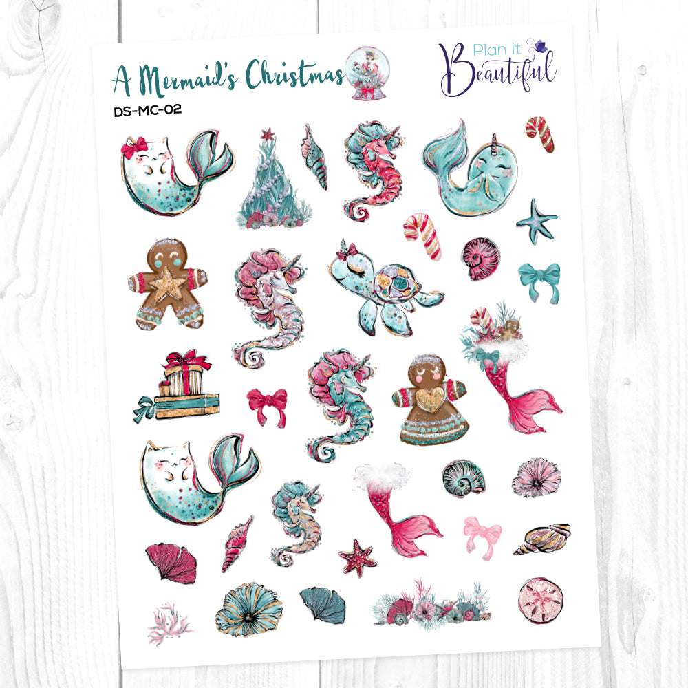 A Mermaid's Christmas: Deco Sampler
