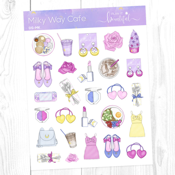 Milky Way Cafe: Deco Sampler
