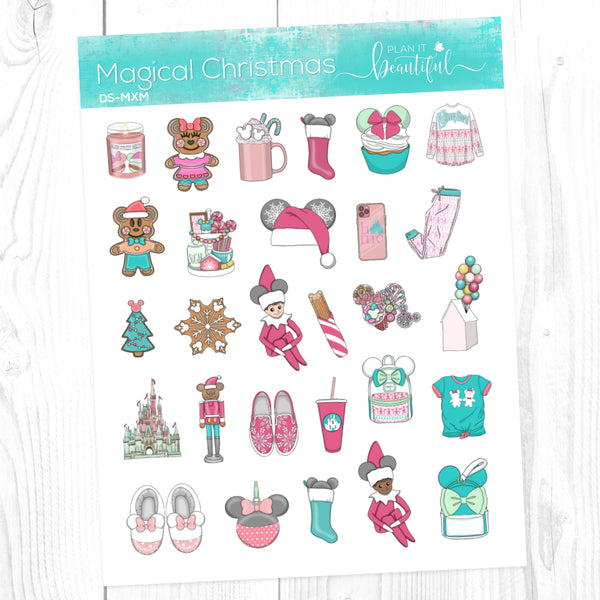 Magical Christmas: Deco Sampler