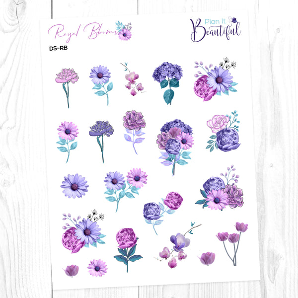 Royal Blooms: Deco Sampler