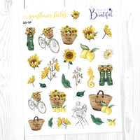 Sunflower Fields: Deco Sampler