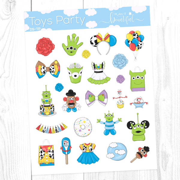 Toys Party: Deco Sampler