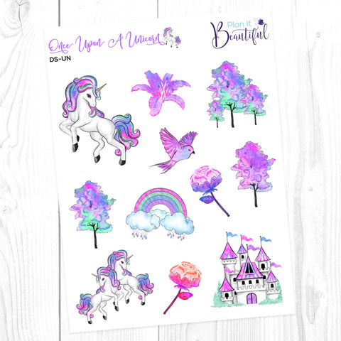 Once Upon A Unicorn: Deco Sampler