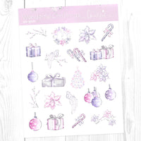 Wonderful Christmas: Deco Sampler