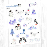 Winter Creatures: Deco Sampler