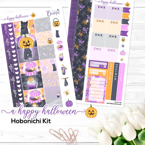 A Happy Halloween - Hobonichi Kit