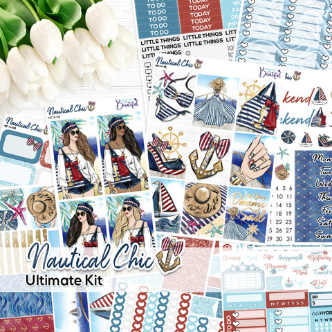 Nautical Chic - Ultimate Vertical Kit