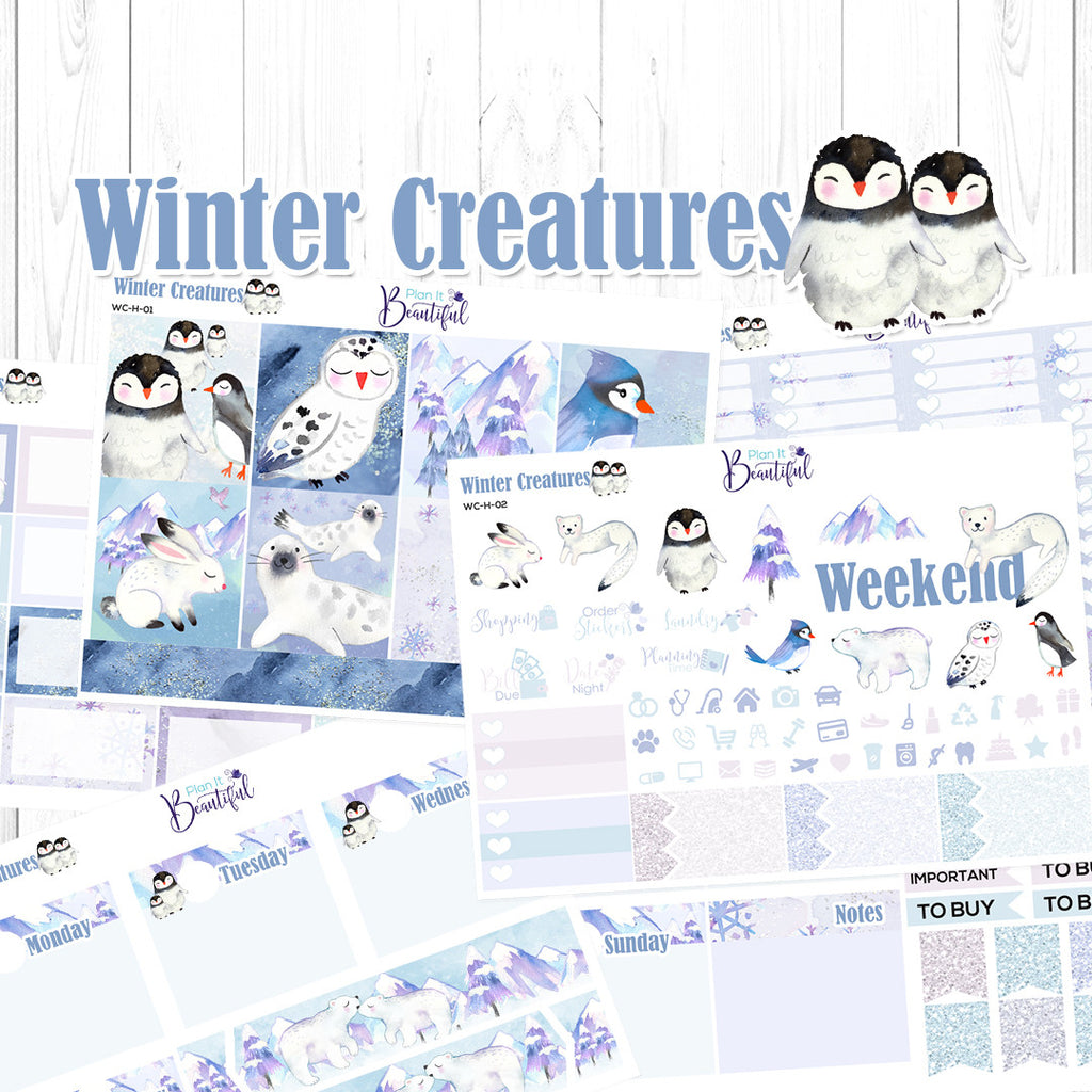 Winter Creatures - Horizontal Kit
