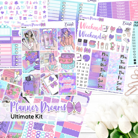 Planner Dreams - Ultimate Vertical Kit