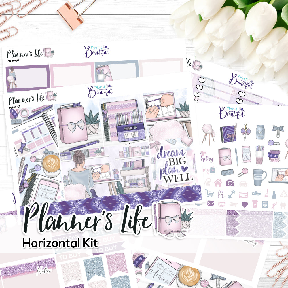 Planner's Life - Horizontal Kit
