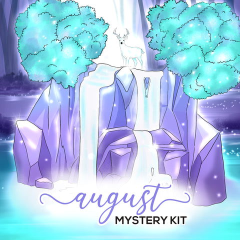 August Mystery - Monthly View Kit