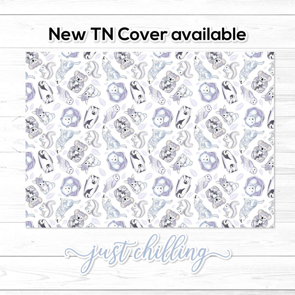Monthly Calendar 2019-2020 - TN Inserts - Wide / Size No. 7 - Printed & Posted