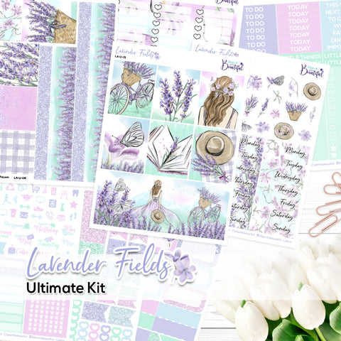 Lavender Fields - Ultimate Vertical Kit