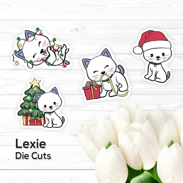 Die Cuts – Lexie - Christmas - Vinyl Stickers