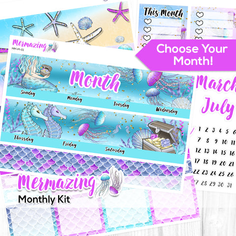 Mermazing Monthly Kit