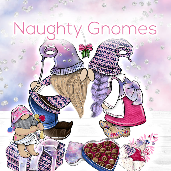 'Naughty Gnomes' Collection