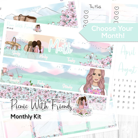 Picnic With Friends Monthly Kit