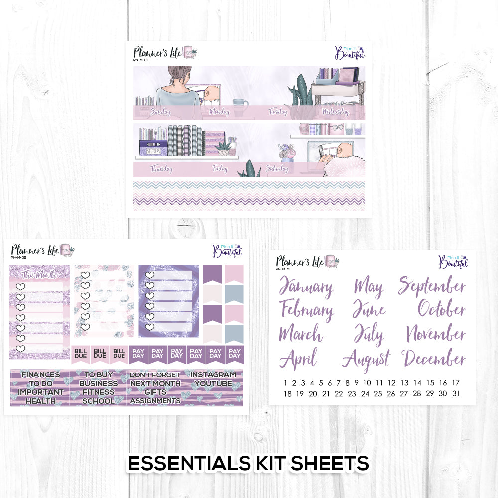 Planner's Life Monthly Kit