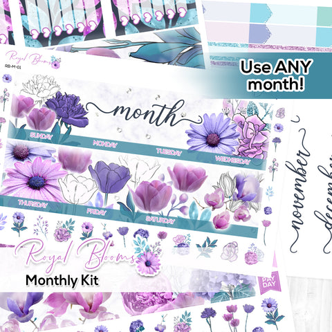 Royal Blooms Monthly Kit (New Format!)
