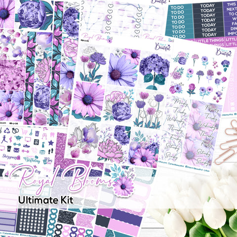 Royal Blooms - Ultimate Vertical Kit