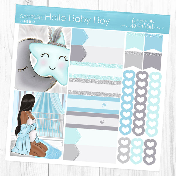 Hello Baby Boy: Sampler