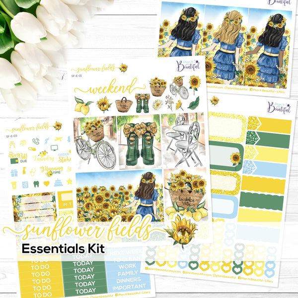 Sunflower Fields - Essentials Kit