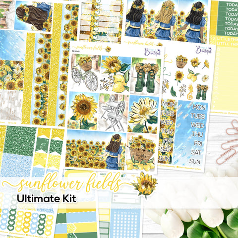 Sunflower Fields - Ultimate Vertical Kit
