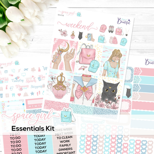 Space Girl - Essentials Kit