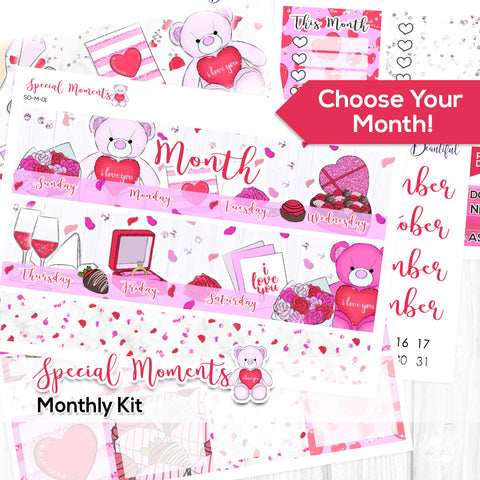 Special Moments Monthly Kit