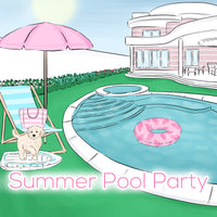 'Summer Pool Party' Collection