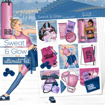 'Sweat & Glow' Collection