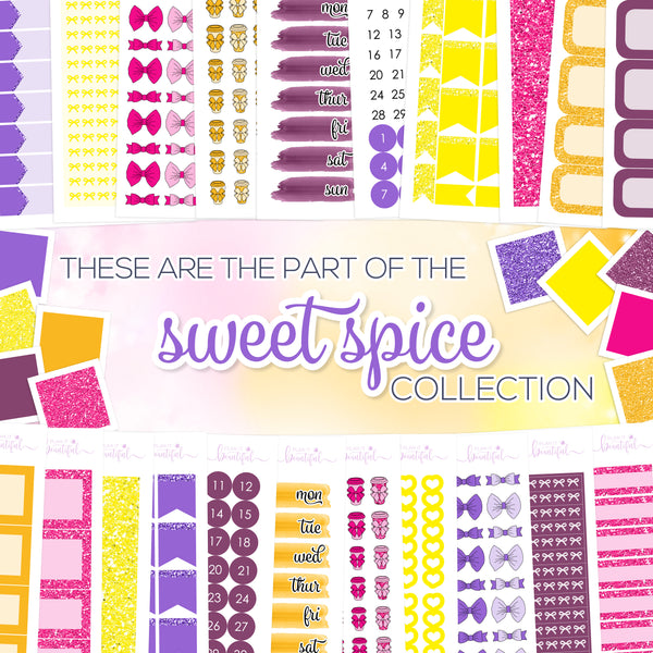 Sweet Spice Collection: Bow Headers