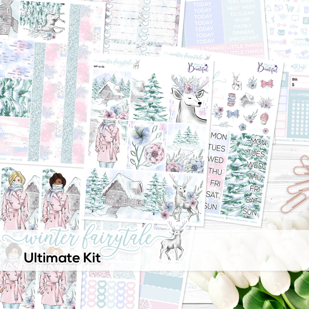 Winter Fairytale - Ultimate Vertical Kit