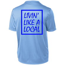 Royal Boxed Livin' Like Short Sleeve Moisture-Wicking Shirt