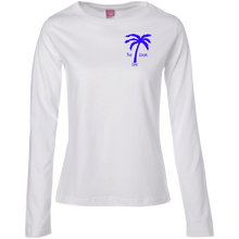 Live Where You Play Ladies Long Sleeve Cotton TShirt