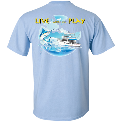 Live Where You Play  Cotton T-Shirt