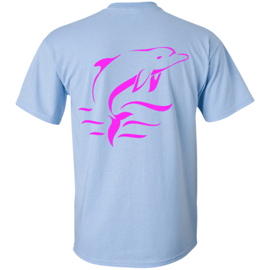 Pink Dolphin Cotton T-Shirt