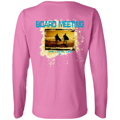 Board Meeting Ladies Long Sleeve Cotton TShirt