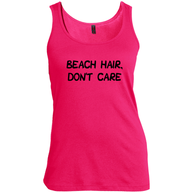 Beach Hair, Don't Care Women's Tank Top