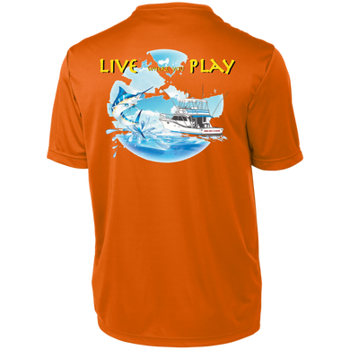 Live Where You Play Short Sleeve Moisture-Wicking Shirt