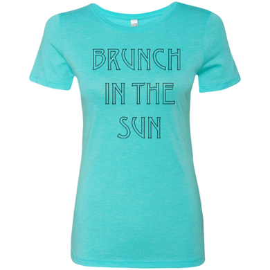 Brunch In The Sun Ladies Triblend T-Shirt