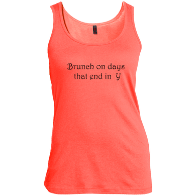 Brunch On Days That End In Y Women's Tank Top