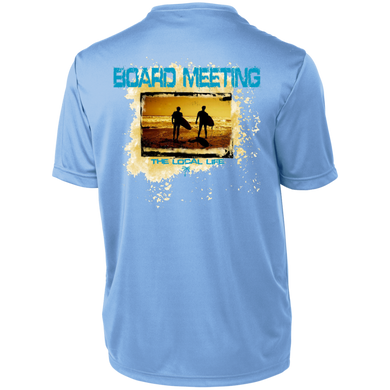 Board Meeting Short Sleeve Moisture-Wicking Shirt