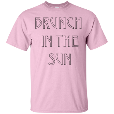 Brunch In The Sun  Cotton T-Shirt