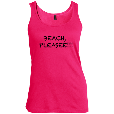 Beach, Pleasee!! Women's Tank Top