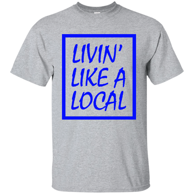 Royal Boxed Livin' Like A Local Cotton T-Shirt