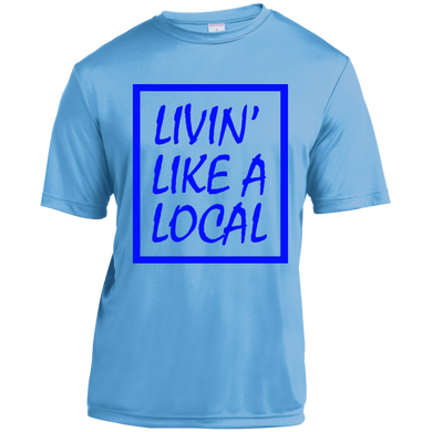 Royal Boxed Livin' Like A Local Ladies' Short Sleeve Moisture-Wicking Shirt