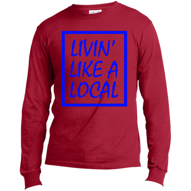 Royal Boxed Livin' Like A Local Long Sleeve Made in the US T-Shirt