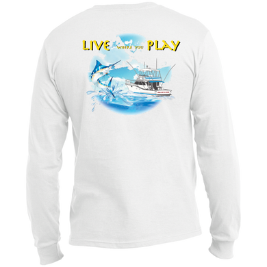 Live Where You Play Long Sleeve Made in the US T-Shirt