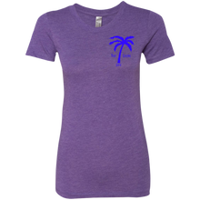 Live Where You Play Ladies Triblend T-Shirt
